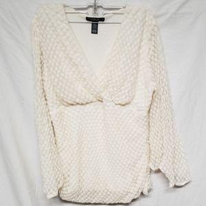 STYLE & CO Women's blouse, size L